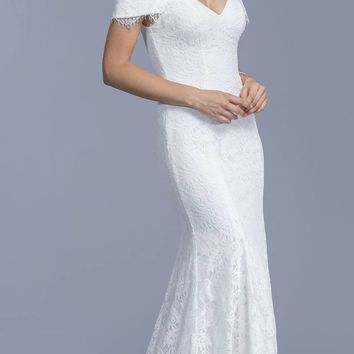 shop off the shoulder wedding gowns on wanelo