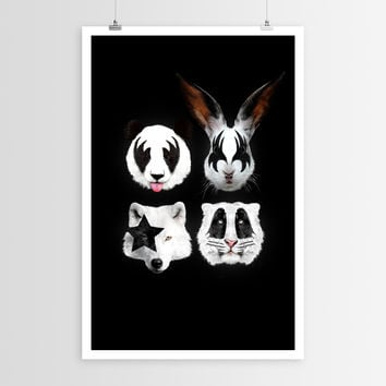 Róbert Farkas  Kiss of Animals POSTER