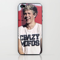 Niall Horan Crazy Mofos iPhone & iPod Skin by Amara V | Society6