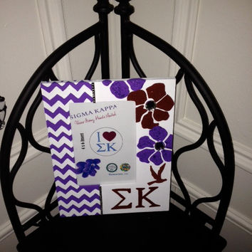 Sigma Kappa Greek Sorority Decorative Frame