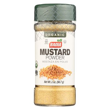 Badia Spices Organic Mustard Powder - Case Of 12 - 2 Oz.
