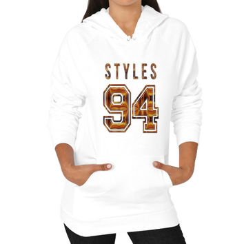 Harry Styles Hoodie (on woman)