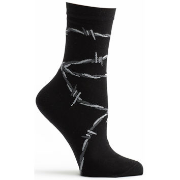 Barbed Wire Sock