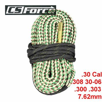 CS Force Barrel Cleaning Rope  .30 Cal .308 30-06 .300 .303 & 7.62mm Calibre Rifle Barrel Cleaner Rope Gun Rifle Cleaner Kit
