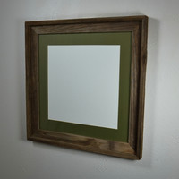 16 x 16 picture frame for pictures or prints, free shipping handmade in the USA
