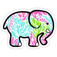 Lilly Pulitzer Whale Lobstah Roll From Redbubble