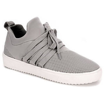Steve Madden Lancer Women's Sneaker (GREY)