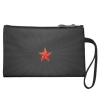 Romantic Star by j3ll3y Sueded Mini Clutch Wristlets