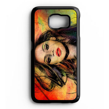 Beyonce painting Samsung Galaxy S6 Case