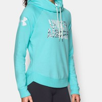 Women's UA Favorite Fleece Camo Logo Hoodie | Under Armour US
