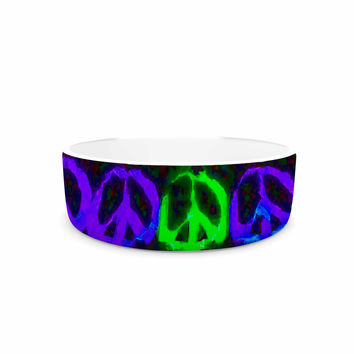 "Anne LaBrie ""Heavenly Peace"" Blue Digital Pet Bowl"