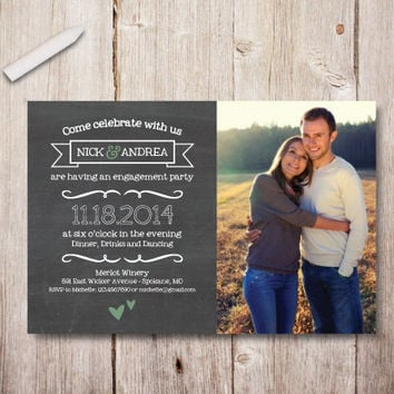 Printable Engagement Invitation