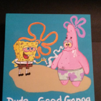 Sponge Bob and Patrick Stash Box