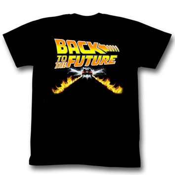 Back To The Future Car Adult Tee