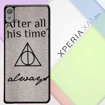 After All This Time Always Quote Harry Potter Sony Xperia XA1 Ultra Case