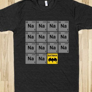 Periodic Table of Batman!