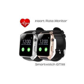 GT88 Smart Wrist Bluetooth Smart Watch Phone Mate with Camera GSM Anti-lost for iPhone Android