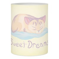 Dreaming Kitten Flameless Candle