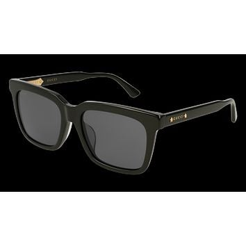 Gucci - GG0267SA Black Sunglasses / Grey Lenses