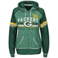 Majestic Green Bay Packers Tame the Tide Fleece Hoodie - Women's, Size: