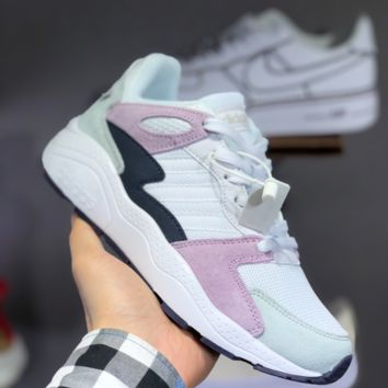 hcxx A1486 Adidas NEO 2019 Fashion Running Shoes Gray Pink Black