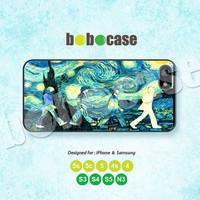 The Beatles, Abbey Road, Oil Paint, iPhone 5 case, iPhone 5C Case, iPhone 5S case, Phone Cover iPhone 4 Case iPhone 4S Case iPhone case 0497