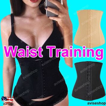 Free Shipping Waist Workout Trainer Tummy Control Cincher Underbust Body Shaper Slim Belt
