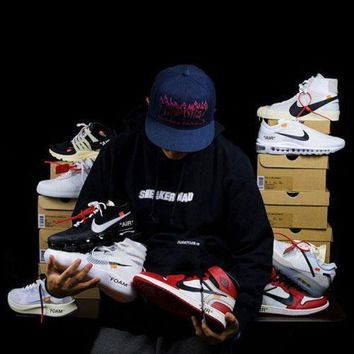 VON3TL OFF WHITE x Nike Custom Made Blazer Studio | Zoom Vaporfly | Air More Uptempo | Air Max 90 Ice | AIR Presto OW | Air Force 1 | Air Max 97 OG | Air VaporMax | Jordan 1 Sport Shoes Sneaker