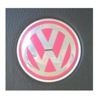 Decal Stickers for Volkswagen Beetles Steering Wheel Emblems 2011 and Older