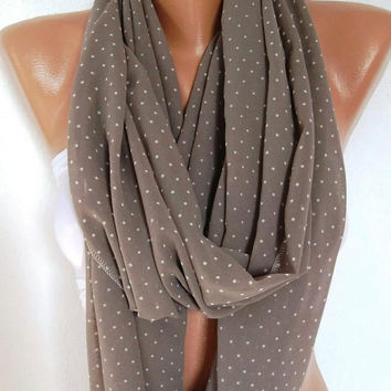 Infinity Scarf, Loop Scarf, Circle Scarf - Elegant - It made with good quality chiffon fabric....Super Loop