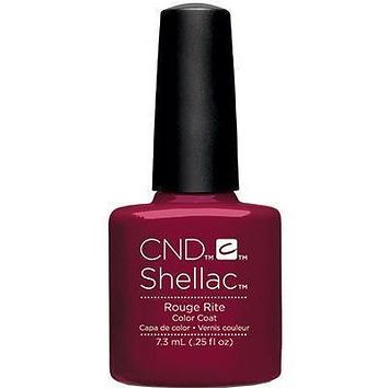 CND - Shellac Rouge Rite (0.25 oz)