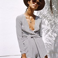 Stripe Marketta Playsuit - Playsuits by Sabo Skirt