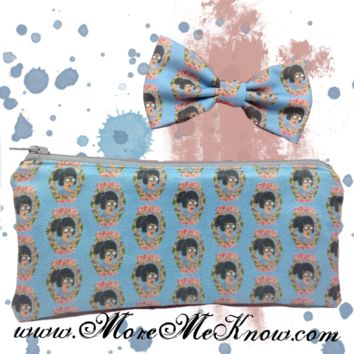 Tina Belcher Bob's Burgers Pencil/Make up Pouch Set
