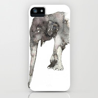 Elephant. iPhone & iPod Case by Dylan Silva