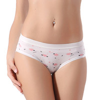Hot Sale Brand New Sexy Calcinha Female Candy Color Casual Women Cotton Underwear Panties Women's Butt Lifter Sports Briefs #023