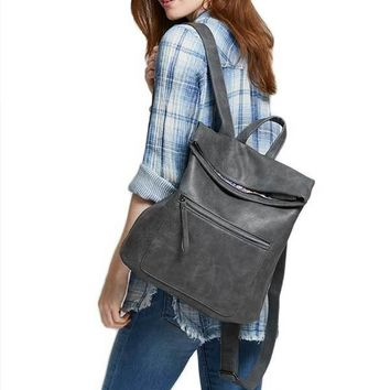 Urban Expressions Faux Leather Backpack