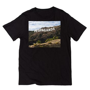 Hollywood Propaganda Sign Graphic Tee