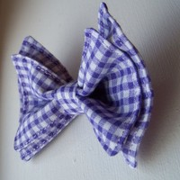 Purple Gingham Bow Tie, Boys bow tie, Toddler Bow Tie, Bow Tie, Bowtie, Doctor Who Baby, Mens Bow Tie, Newborn Bow Tie, Bow Tie Toddler,