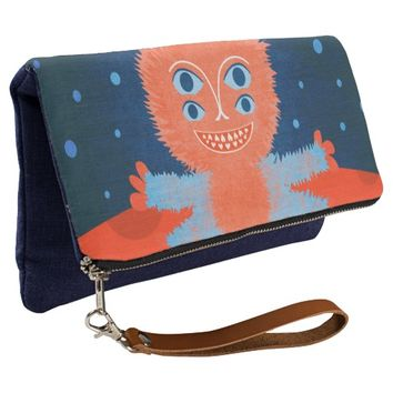 Focussian Fluffy Cartoon Alien Clutch