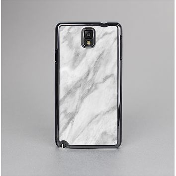 The White Marble Surface Skin-Sert Case for the Samsung Galaxy Note 3
