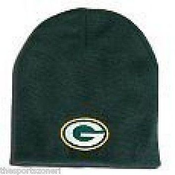 Green Bay Packers Cuffless Knit Hat