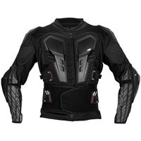 EVS G6 Adult Ballistic Jersey Dirt Bike Motorcycle Body Armor - Black / X-Large