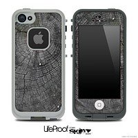 Grey Wood Knot Skin for the iPhone 5 or 4/4s LifeProof Case