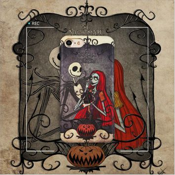 The Nightmare Before Christmas Pumpkin Anime Education Collection Toys For Phone Figures Case Toy Gifts