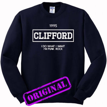 Michael Clifford quote for Sweater navy, Sweatshirt navy unisex adult