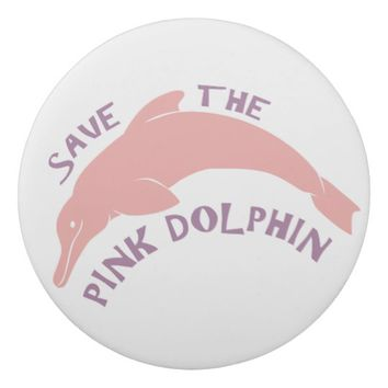 Save the Pink Dolphin Eraser