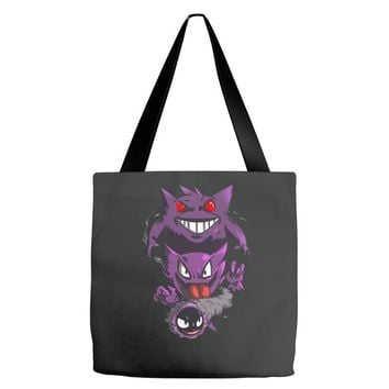 pokemon the ghost Tote Bags