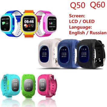 Q50 GPS Smart Kid Safe Smart Watch SOS Call Location Finder Locator Tracker for Child Anti Lost Monitor Baby Son Wristwatch Q60