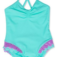 Toddler Girl's Hula Star 'Mermaid' One-Piece Swimsuit,