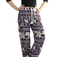 Bangkokpants Women's Yoga Women Harem Elephant Pants Boho Hippie Clothes